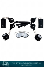 Kit d'attaches pour  lit - Fifty Shades Of Grey - Coffret de Bondage sp�cial lit  Hard Limits , par Fifty Shades Of Grey.